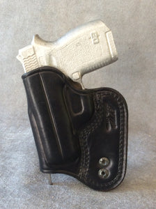 Diamond Back 380 IWB Concealed Tuckable Custom Leather Holster