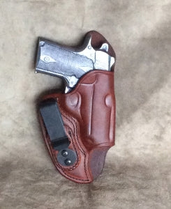 Kimber Micro Carry 9 IWB w/Sweat Guard Leather Holster