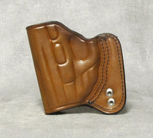 Smith & Wesson M&P Shield (Crimson Trace) IWB Leather Holster - Brown