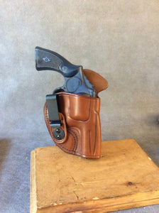 Smith & Wesson N Frame IWB Concealed Tuckable Custom Leather Holster