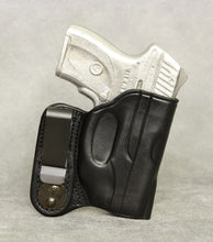 Ruger LC9 (Crimson Trace) IWB Leather Holster - Black