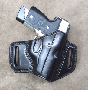 KAHR MK 9 Two Slot Pancake (TSP) Leather Holster