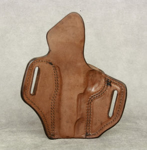 1911 Commander Two Slot Pancake (TSP) Leather Holster