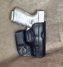 Glock 30S IWB Concealed Tuckable Custom Leather Holster