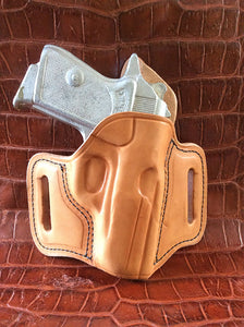 Walther PPK/PPKS Two Slot Pancake (TSP) Leather Holster