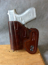 Glock 42 IWB Concealed Tuckable Custom Leather Holster