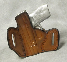 Taurus 709 Slim Leather Pancake Holster - Brown