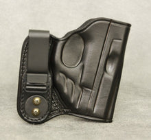 Smith & Wesson M&P Shield (Crimson Trace) IWB Leather Holster - Black
