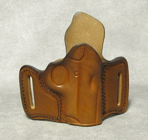 Kimber Solo Leather Pancake Holster - Brown