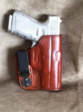 Glock 30 IWB Concealed Tuckable Custom Leather Holster