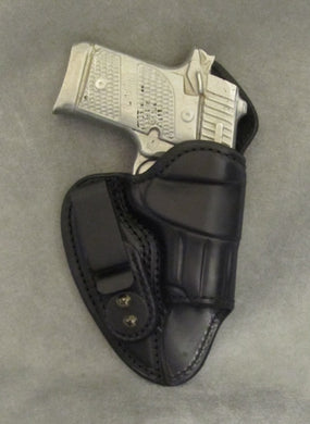 Sig Sauer P938 (Crimson Trace) Mr Jones lined IWB Leather Holster - Black