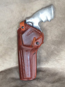 Ruger Redhawk 2 POSITION Leather Holster