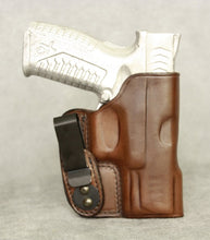 Springfield XD(M) 3.8 IWB Leather Holster - Brown