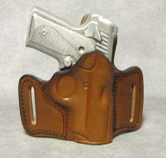 Kimber Solo (Crimson Trace) Leather Pancake Holster - Brown