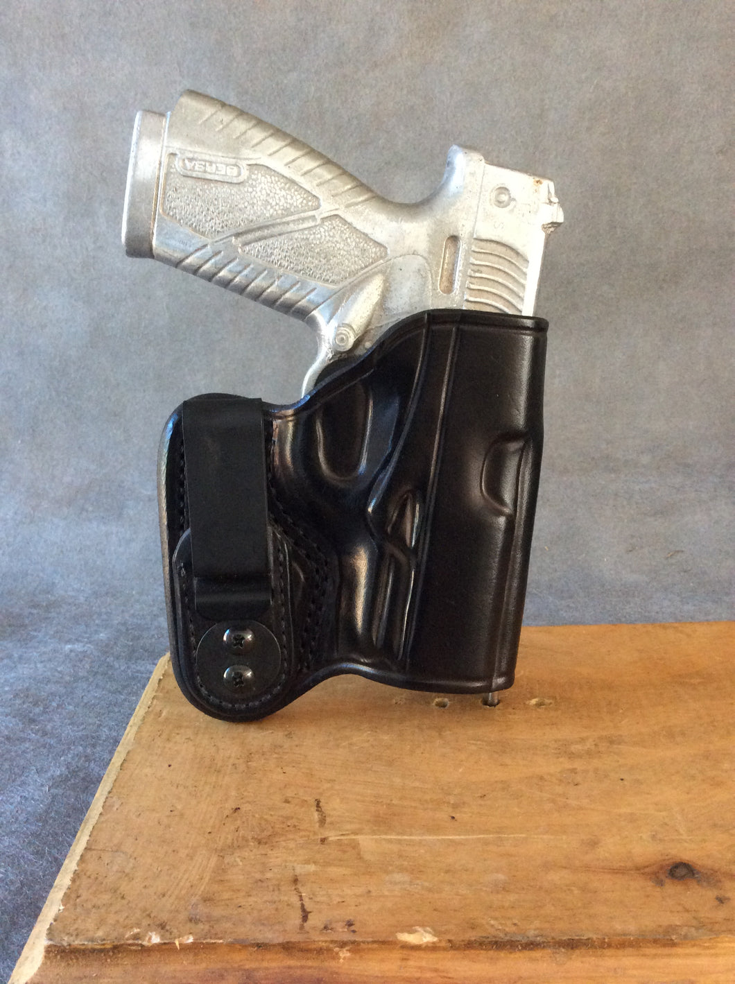 Bersa BP9CC IWB Concealed Tuckable Custom Leather Holster