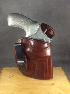 Smith & Wesson K-FRAME IWB Concealed Tuckable Custom Leather Holster