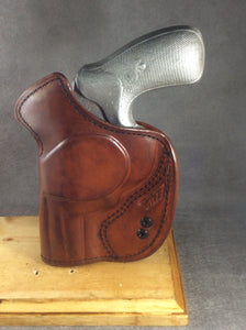 Taurus 856 UL IWB Concealed Tuckable Leather Holster