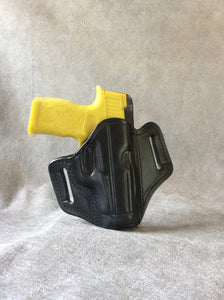 Sig Sauer P365xl OWB Custom Leather Pancake Holster