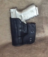 Glock 19 /23/32 IWB Concealed Tuckable Custom Leather Holster