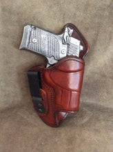 "Sig Sauer P938 IWB ""Mr. Jones"" lined Leather Holster"