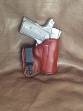 "1911 3"" Micro-Compact IWB Leather Holster"