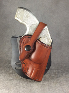 Kimber K6s OWB Leather Paddle Custom Holster