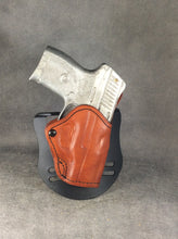 Ruger LC9 OWB Leather Paddle Holster