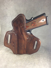 KIMBER 1911 COMMANDER SIZE OWB ALLIGATOR HOLSTER