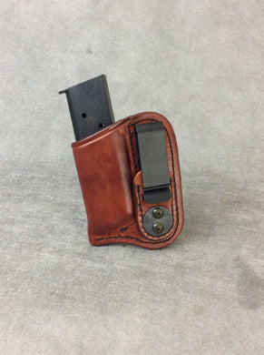 45 cal Concealed Leather IWB Magazine Holder