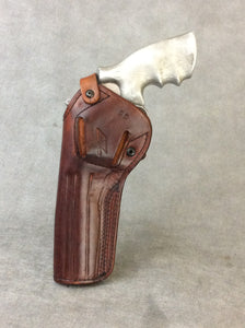 Smith & Wesson N Frame OWB 2 POSITION Leather Gun Holster