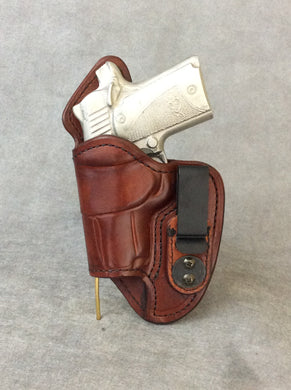 Kimber Micro 9 IWB Leather Gun Holster