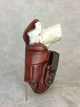 "Kimber Micro 9 IWB Leather Concealed Tuckable Holster ""Mr. Jones"""