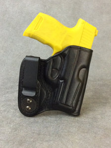 Sig Sauer P365xl IWB Concealed Tuckable Custom Leather Holster