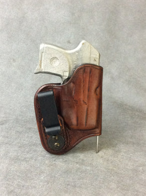 Kimber Micro Carry 380 IWB Concealed Tuckable Leather