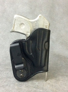 Ruger LCP IWB Concealed Tuckable Leather Holster