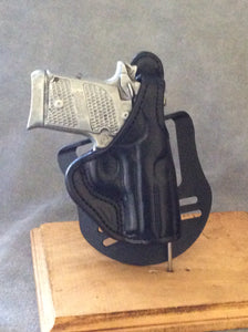 Sig Sauer P938 OWB Paddle Holster w/Thumb Break Leather