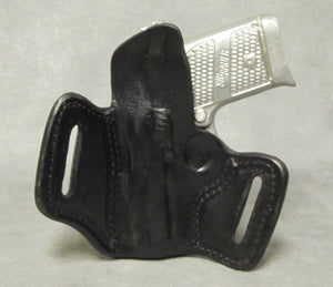 Sig Sauer P938 Leather Pancake Holster - Black