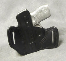 Taurus 709 Slim Leather Pancake Holster - Black