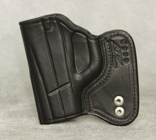 Taurus 709 Slim IWB Leather Holster - Black