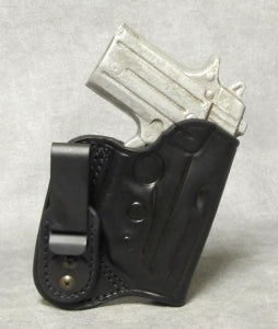 Sig Sauer P238 IWB (with Sig factory laser) Leather Holster