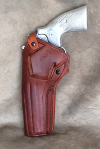 "S&W 686 TWO POSITION 6"" Leather Holster-IN STOCK NOW"