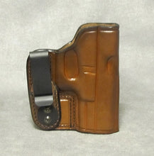 Glock 23 IWB Leather Holster - Brown