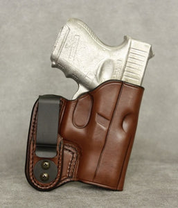 Glock 33 IWB Leather Holster - Brown