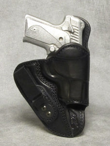 Kimber Solo (Crimson Trace) Mr Jones Reinforced IWB Leather Holster - Black