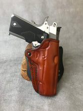 1911 Full Size Leather Paddle Gun Holster