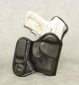 Ruger LC9 (Crimson Trace) Mr Jones Lined IWB Leather Holster