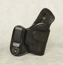 Ruger LC9 (LaserMax) Mr Jones Lined IWB Leather Holster