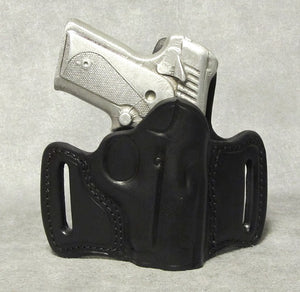 Kimber Solo (Crimson Trace) Leather Pancake Holster - Black
