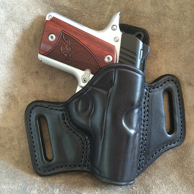 Kimber Micro Carry 9mm Two Slot Pancake (TSP) Leather Holster