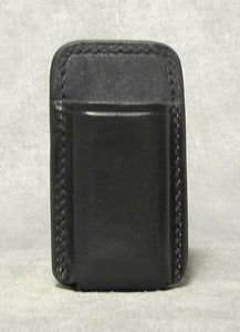 .45 cal OWB Single Magazine Holder Leather